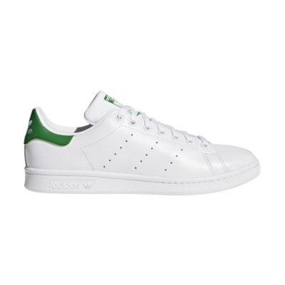 sapatilhas adidas brancas e verde