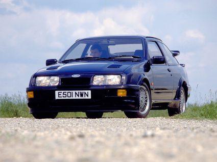 Ford Sierra I RS 500 Cosworth azul
