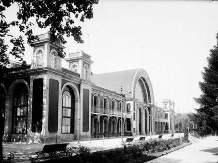 O Palácio de Cristal original
