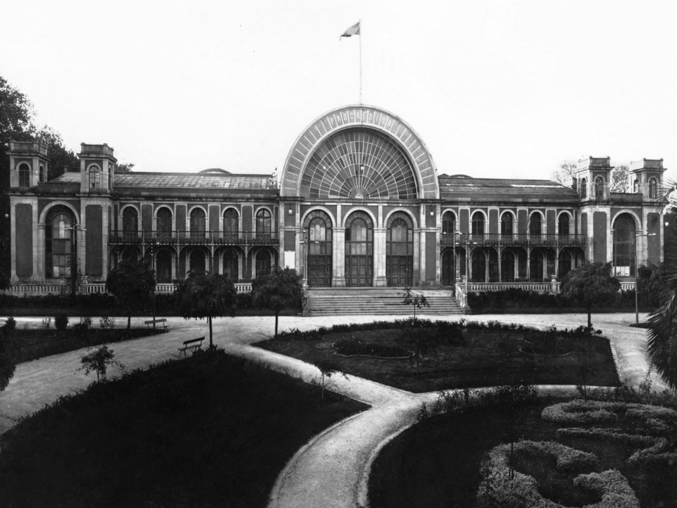Jardins do Palácio de Cristal