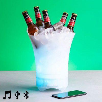 Loja online Prio: balde de gelo com luz e coluna