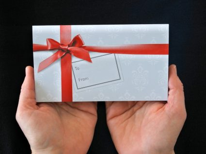 cartões oferta para o natal