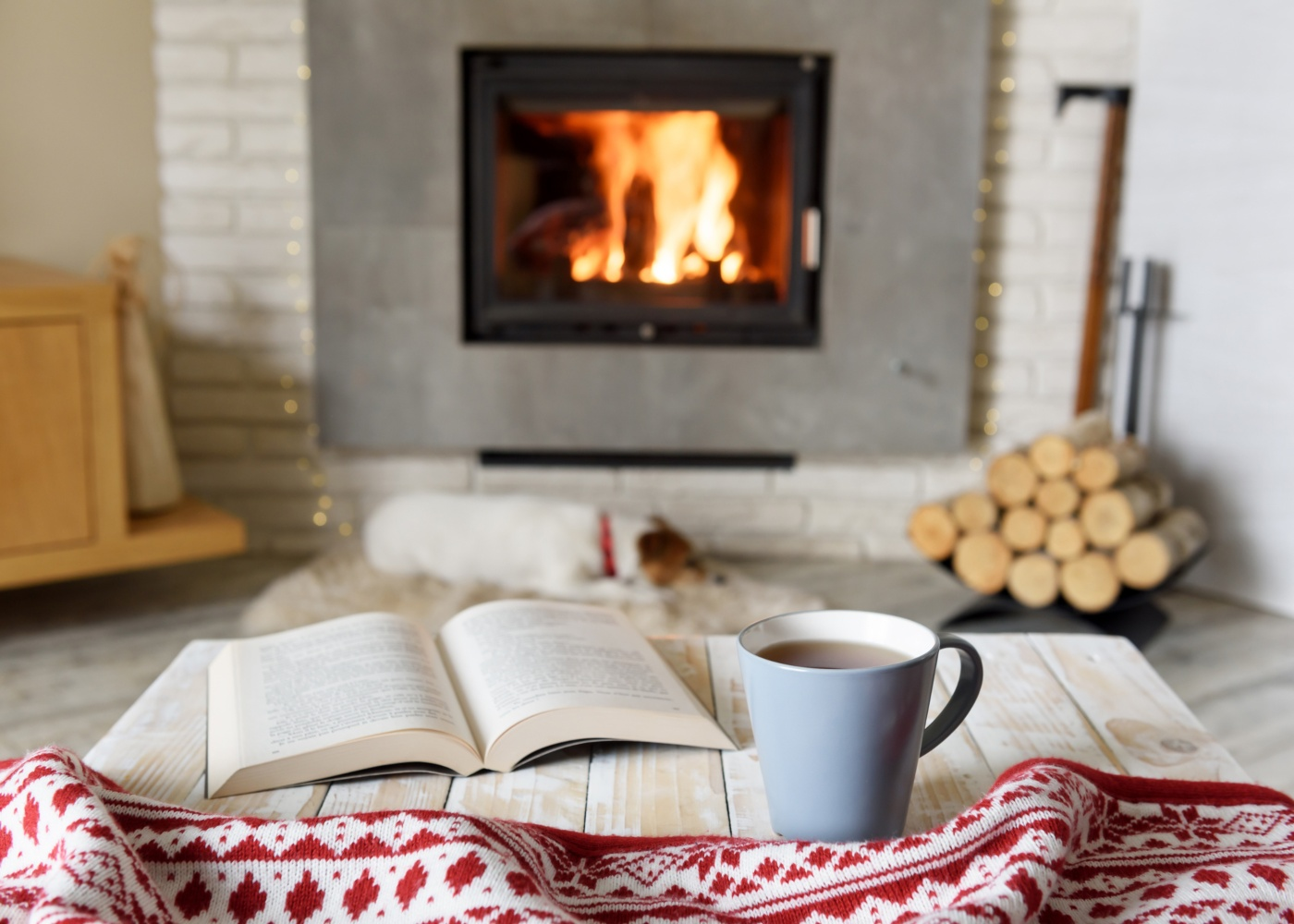 casa calor lareira