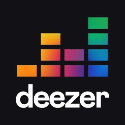 Logo da app Deezer