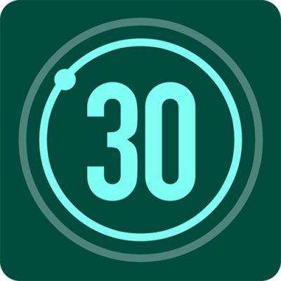 Logo da app Desafio Fitness 30 Dias