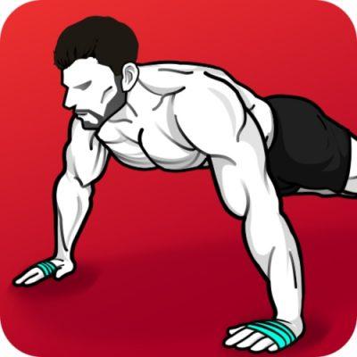 Logo da app Exercícios em Casa