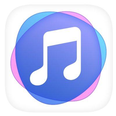 Logo da app Huawei Music