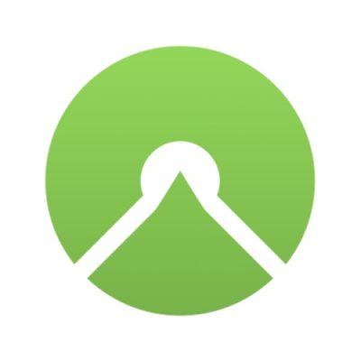 Logo da app Komoot