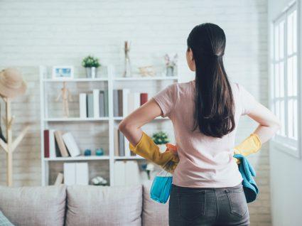 limpar a casa sem produtos de limpeza