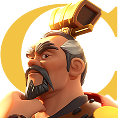 Logo do jogo online Rise of Kingdoms