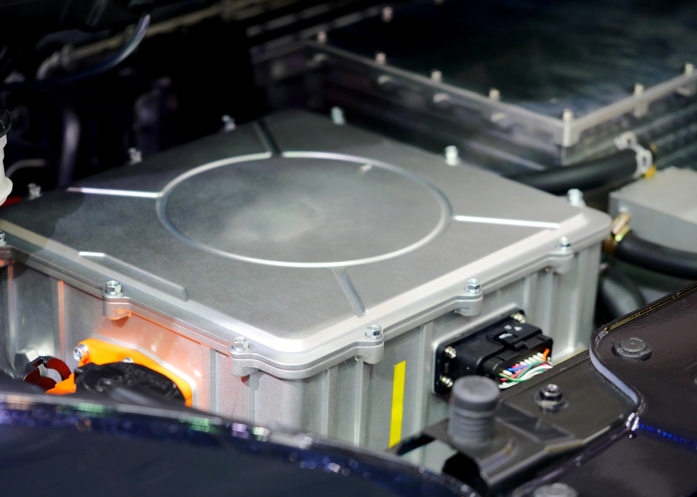exemplo de baterias dos carros elétricos
