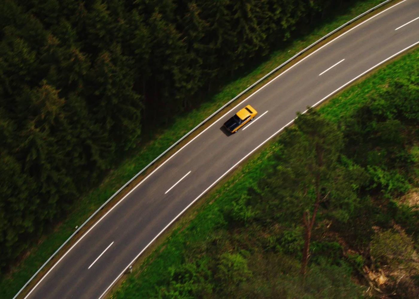 ford capri na estrada