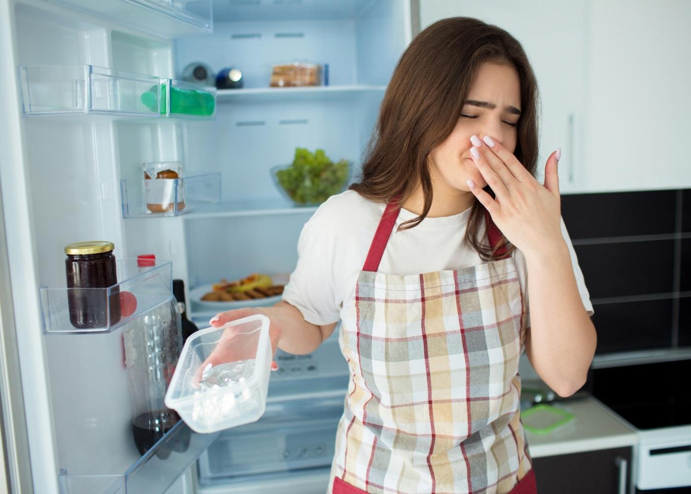 frigorífico mau cheiro