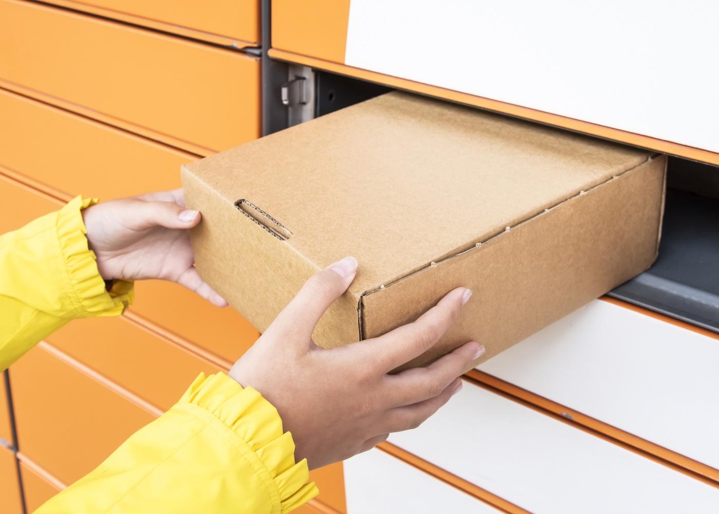 levanta encomenda caixa de correio