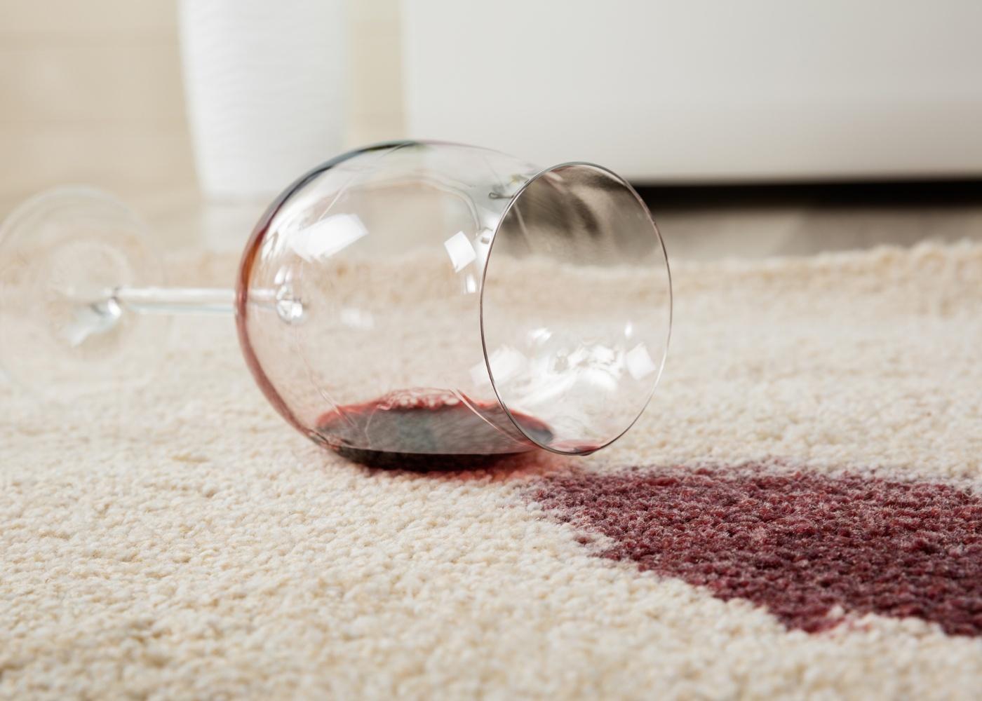 mancha vinho tinto carpete