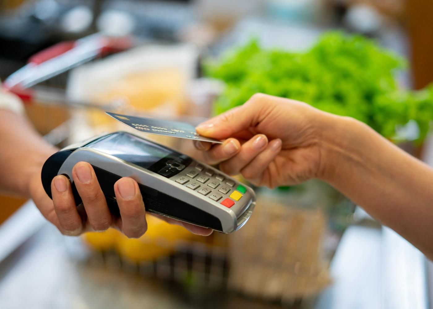 pagamento cartão contactless