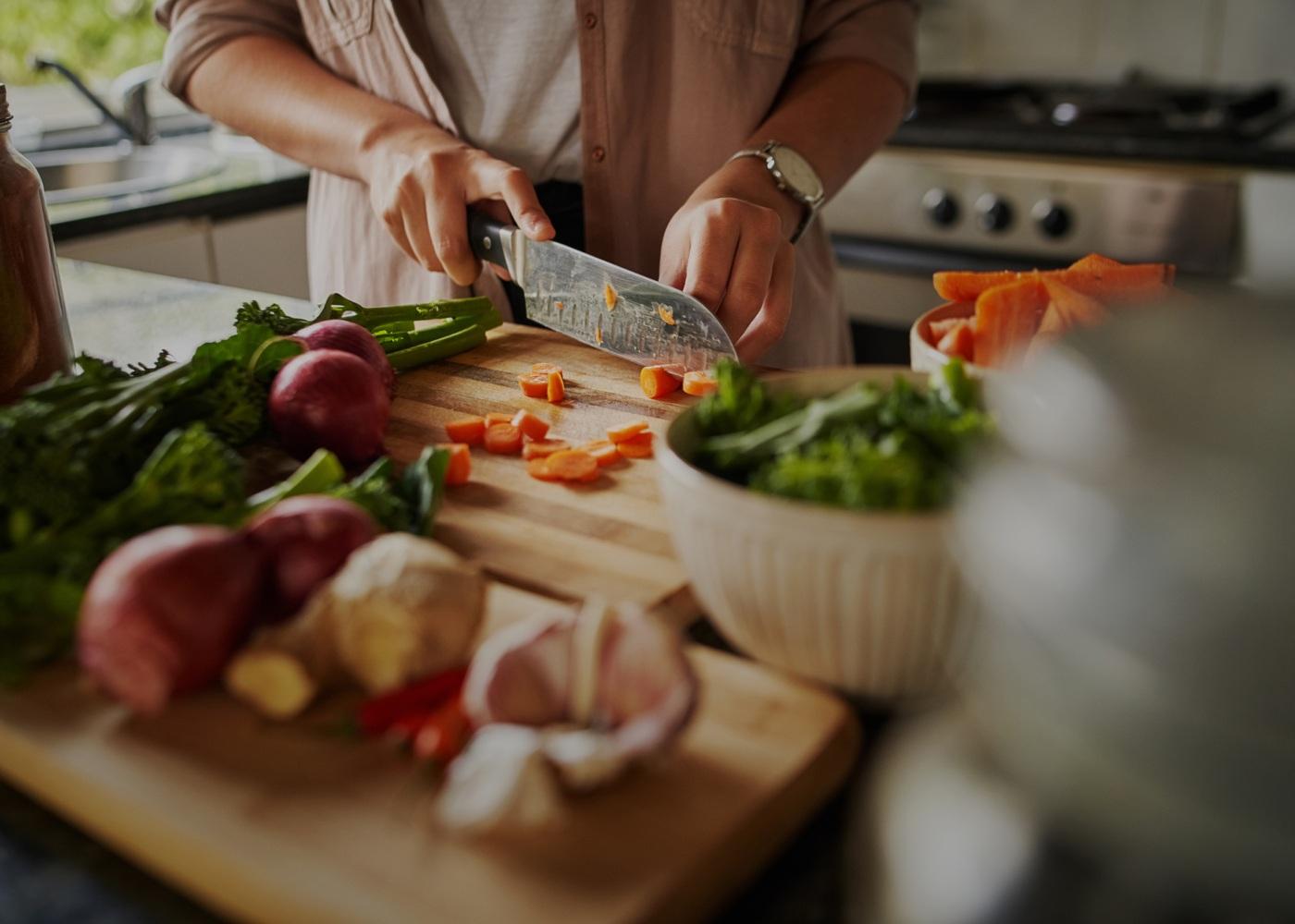 preparar alimentos
