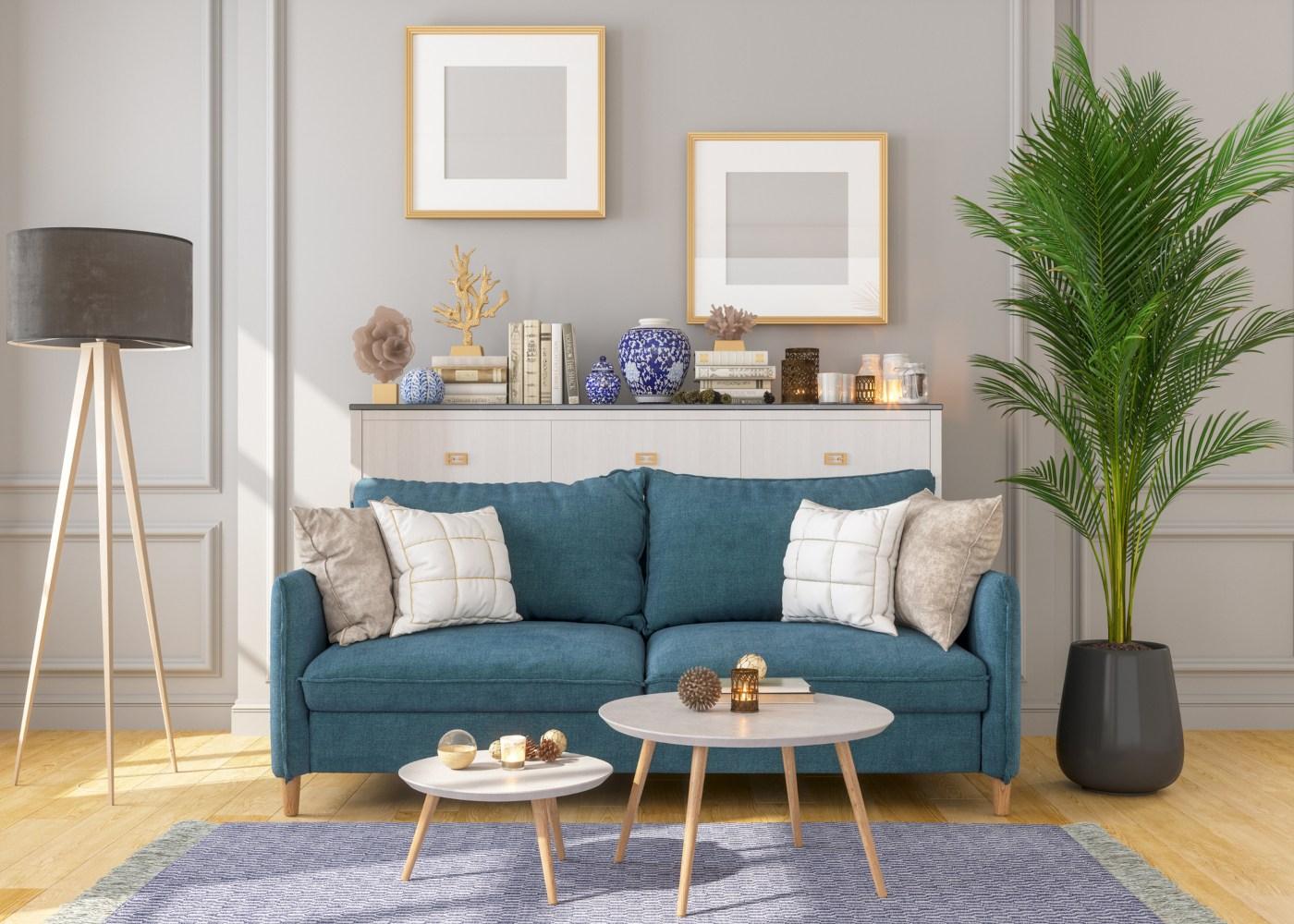 primeira casa sala de estar