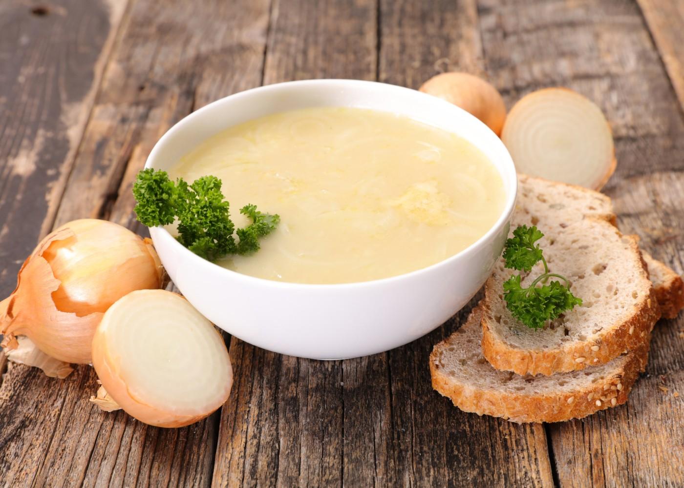 receita sopa de cebola