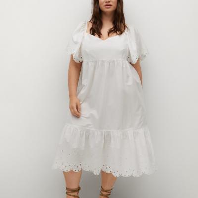 vestido algodao