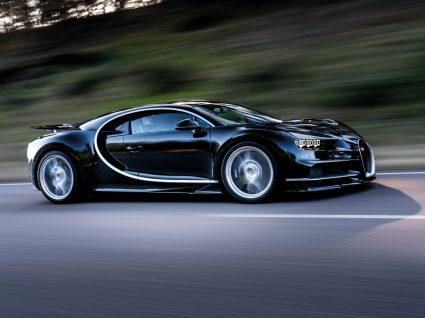 bugatti chiron, um dos carros de produção mais rápidos do planeta