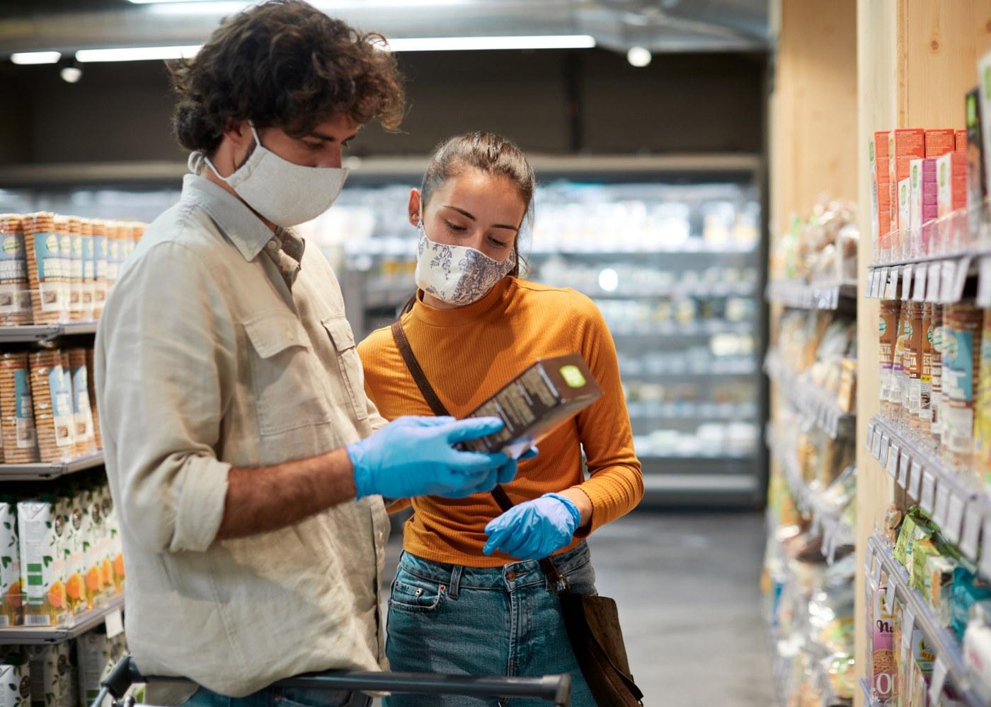 compras supermercado coronavírus