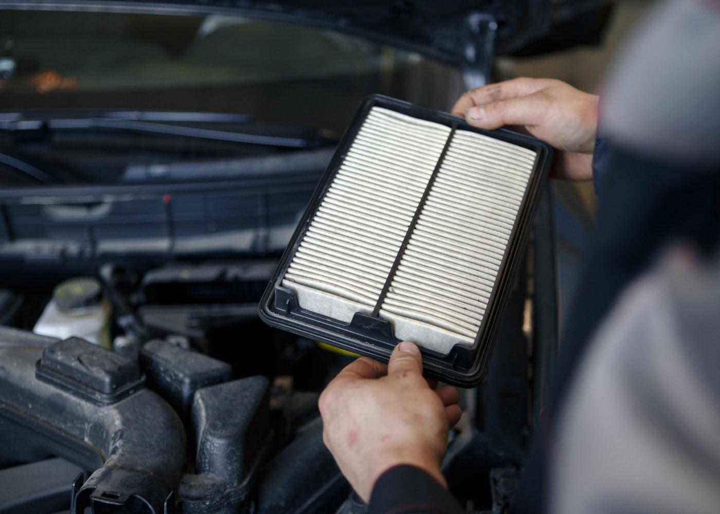 filtro do habitáculo no motor