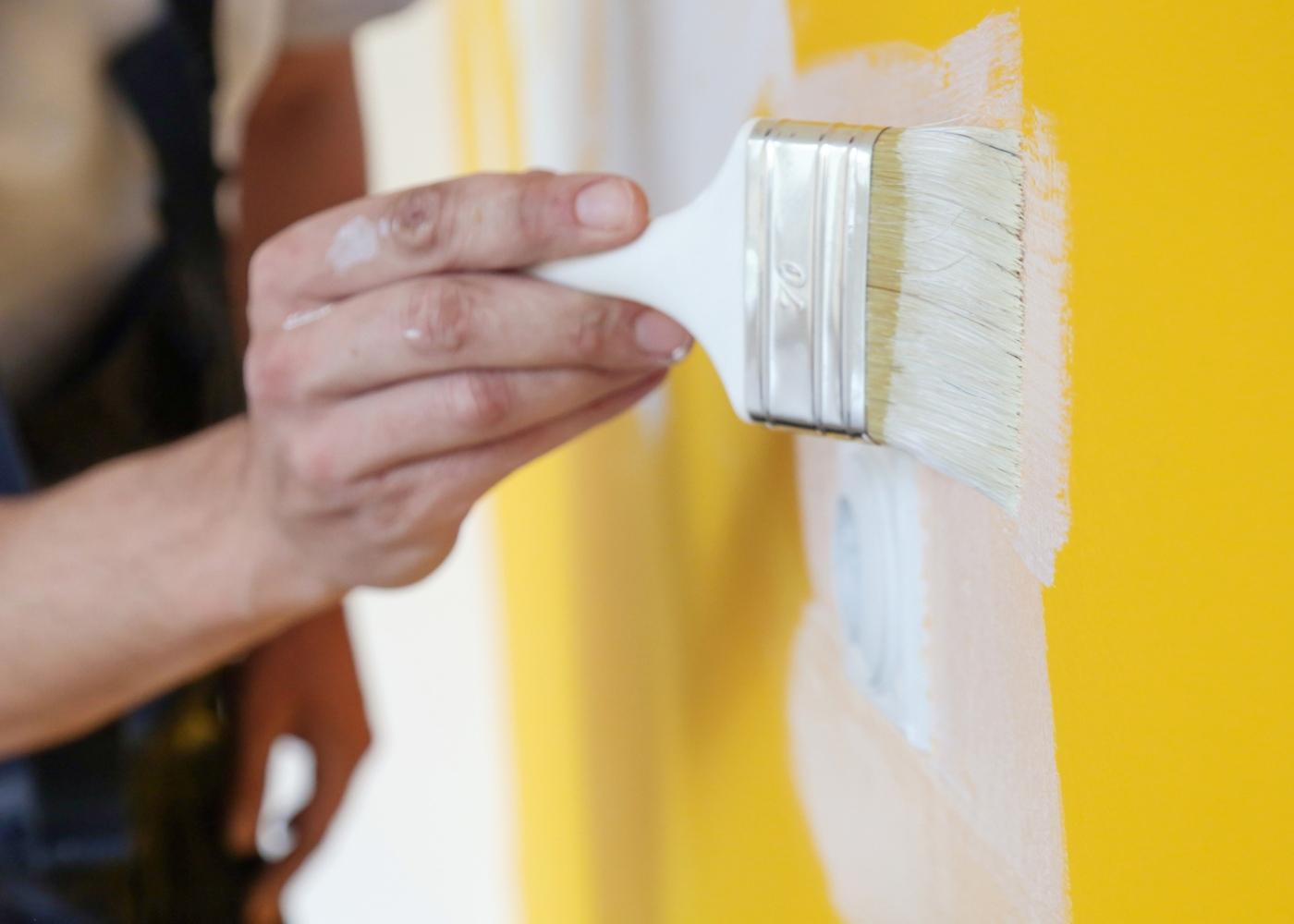 pintar paredes obras em casa