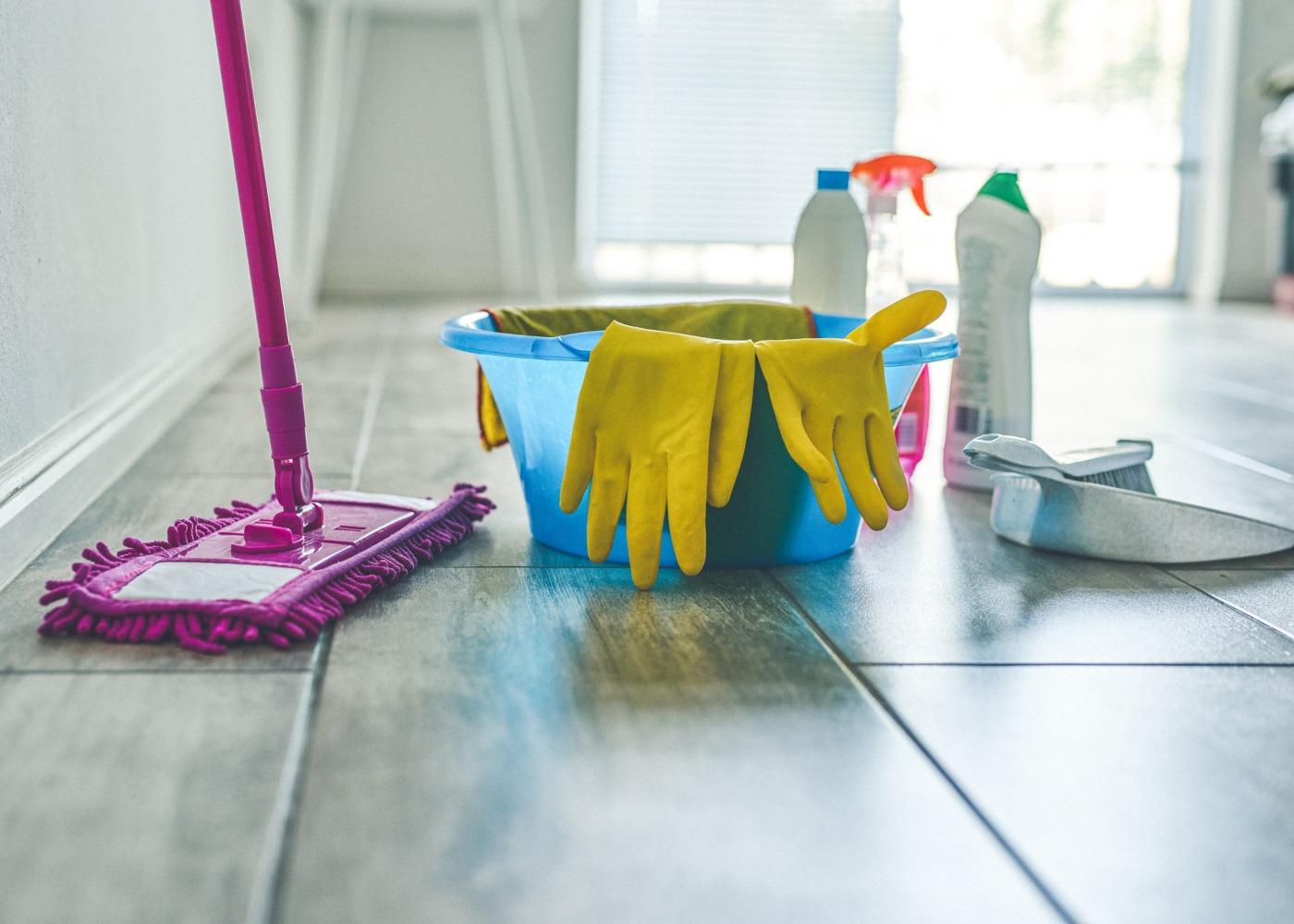 produtos de limpeza de casa
