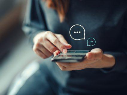 Alertasd sobre a segurança das sms