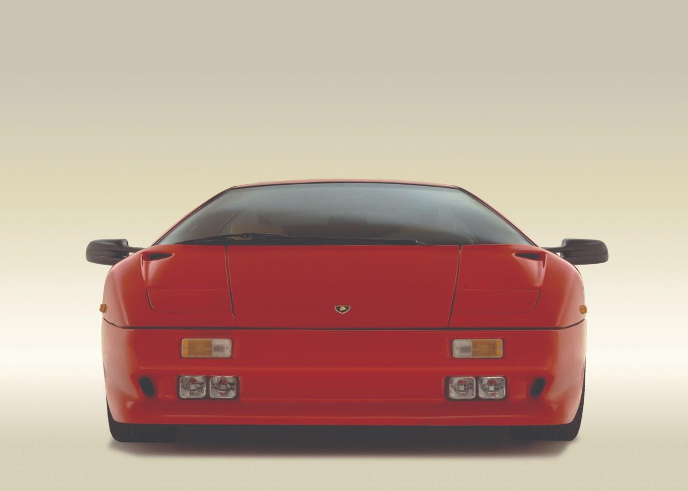 Lamborghini Diablo vermelho