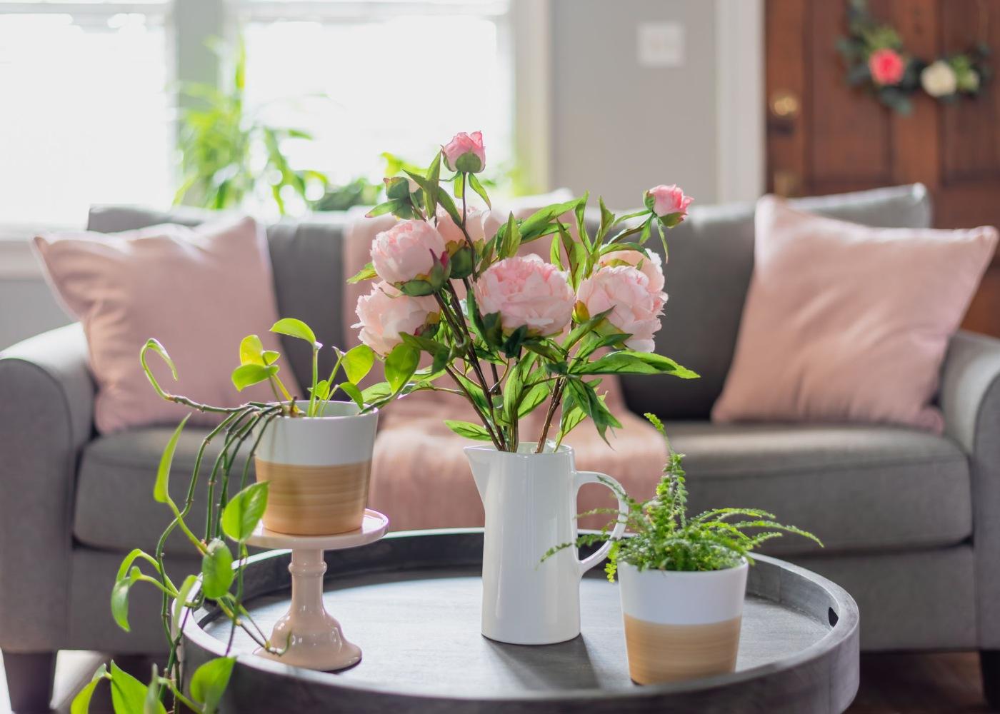 flores para decoração de primavera