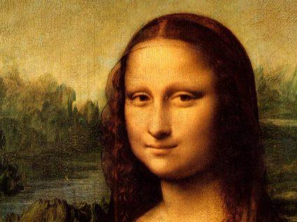 Mona Lisa no Louvre