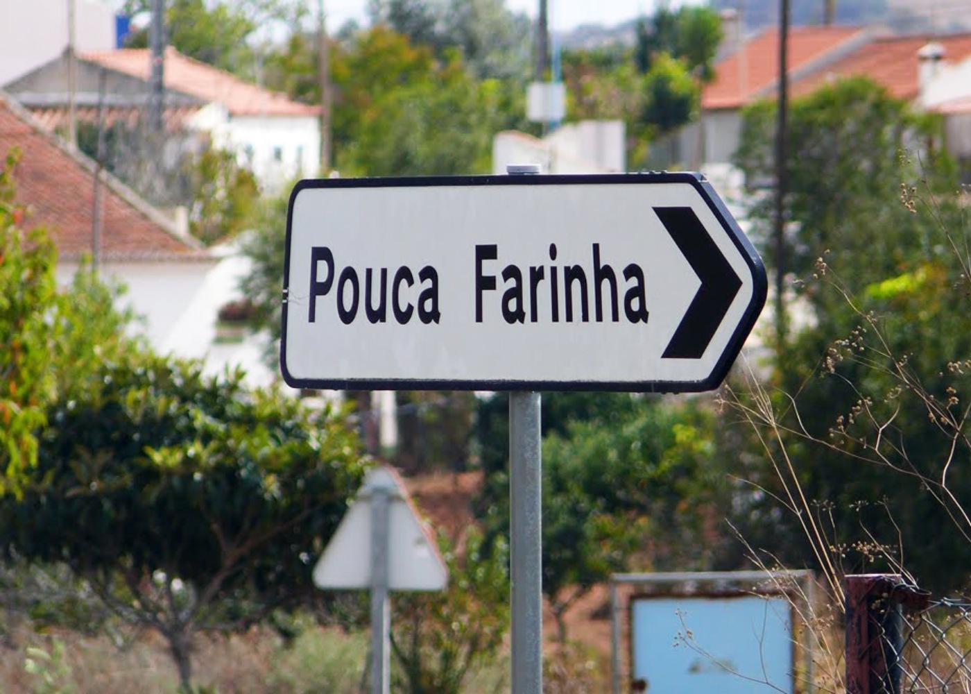 Placa de Pouca Farinha