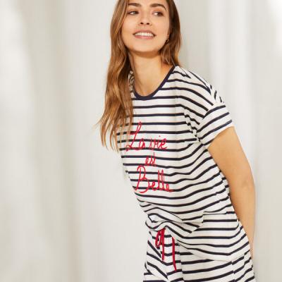 pijama riscas womens secret