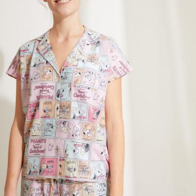 pijama banda desenhada snoopy
