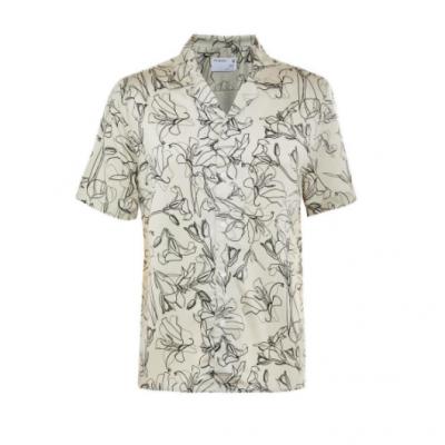 camisa floral homem
