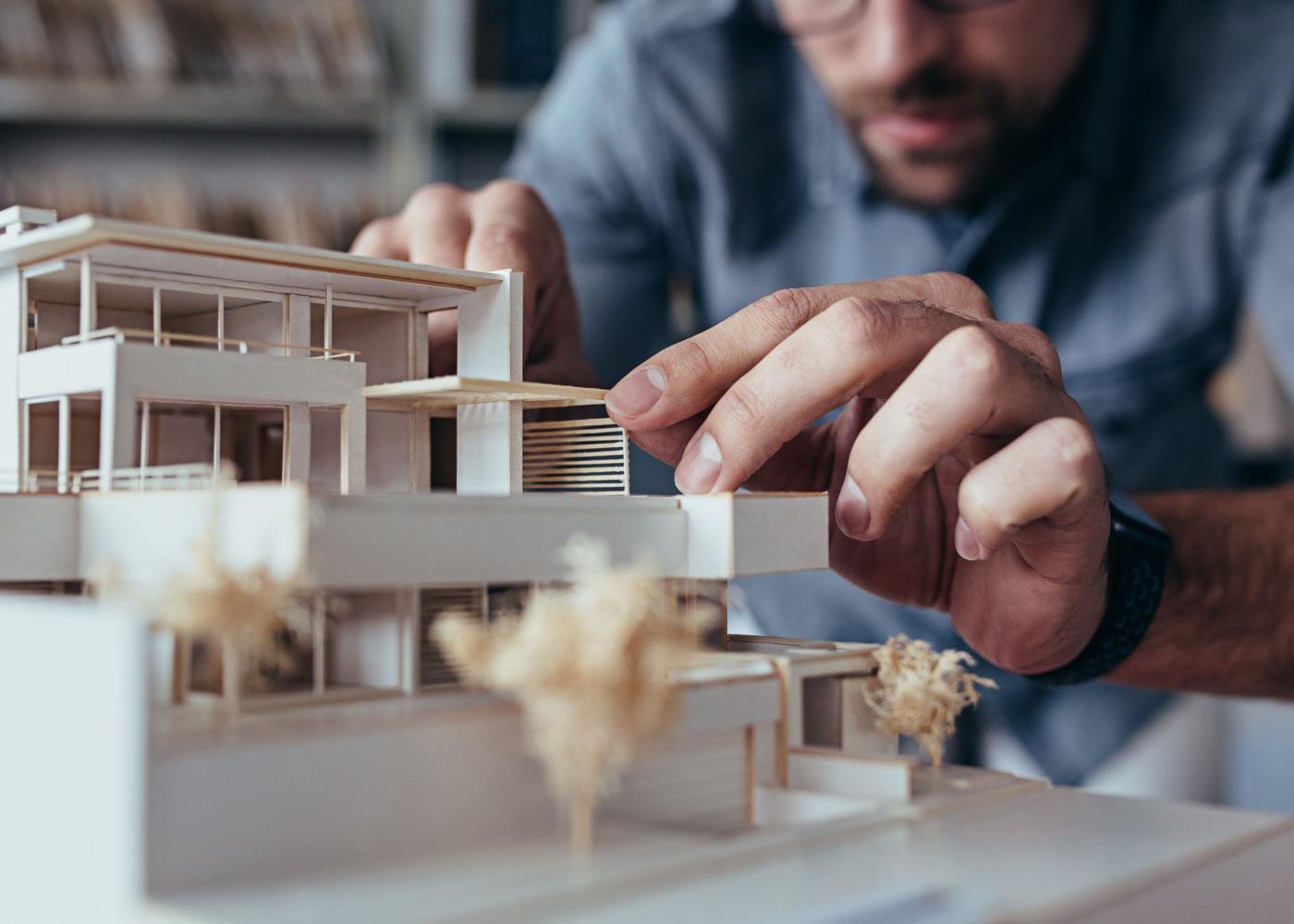 arquiteto casa maquete