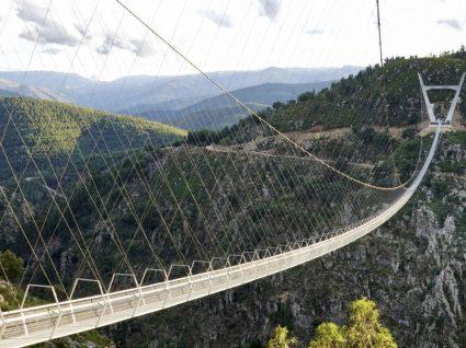 Ponte suspensa em Arouca