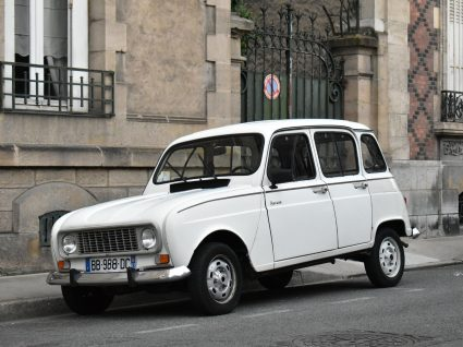 Renault 4L branco