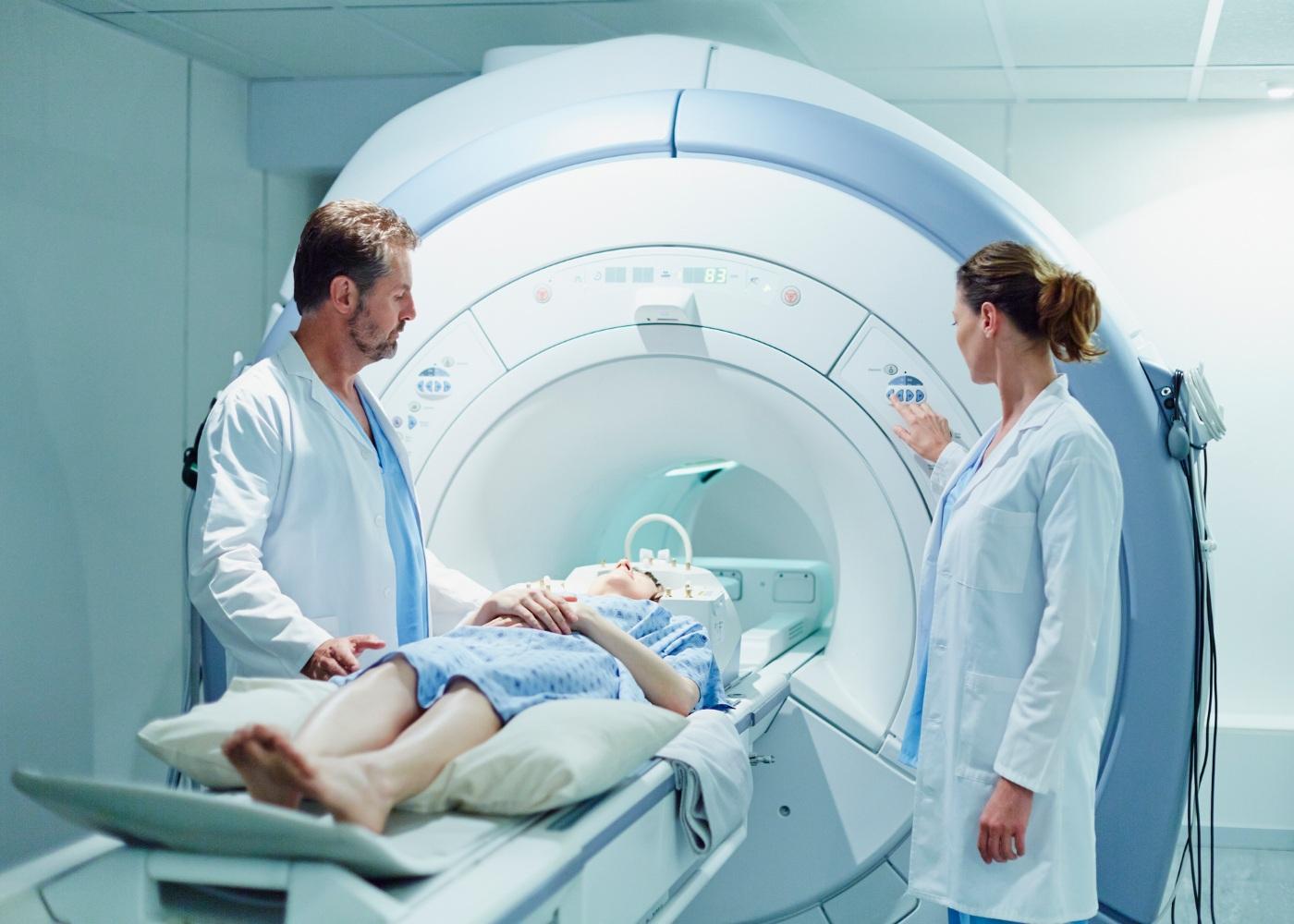 Máquina de ressonância magnética