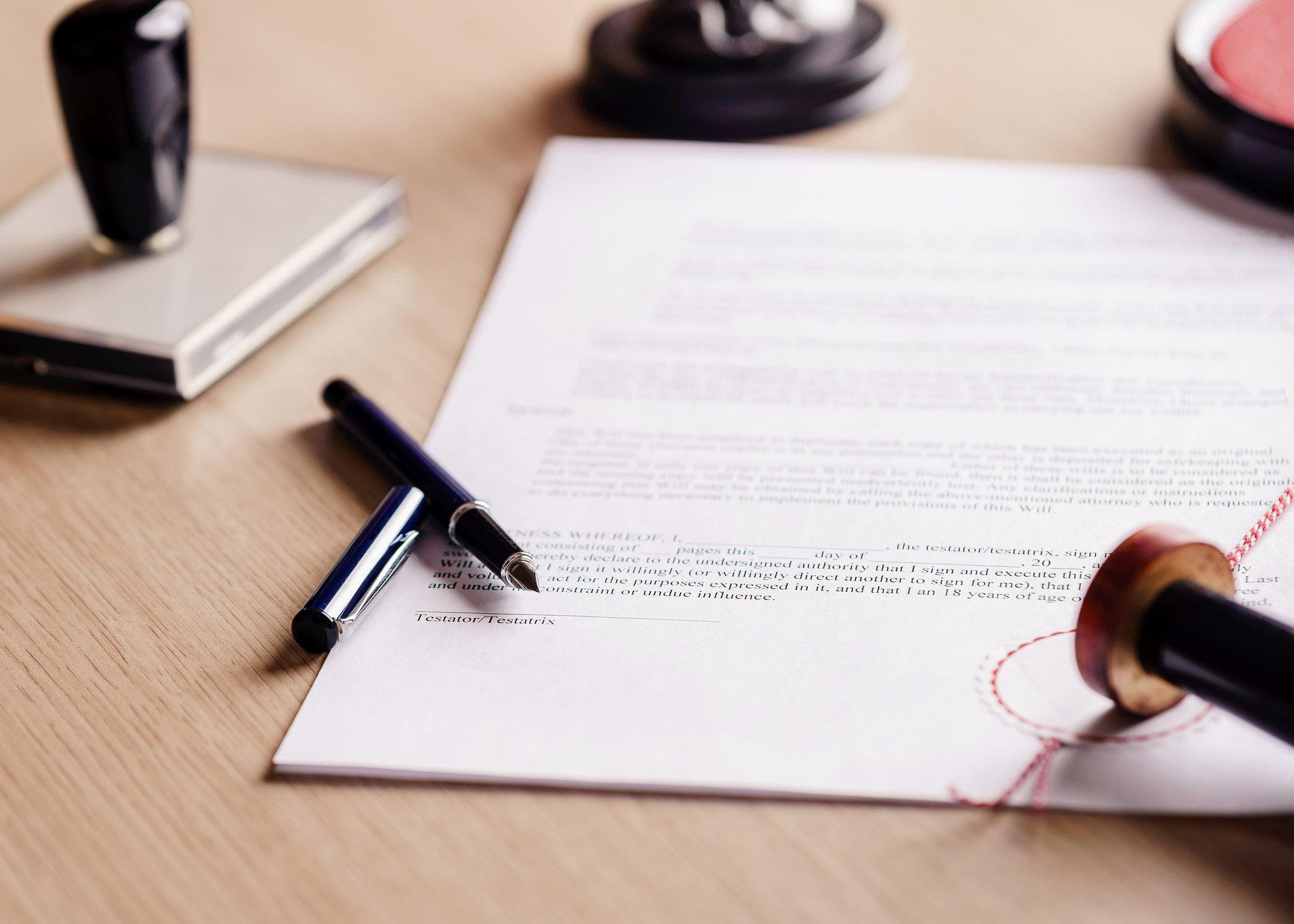 documentos notário