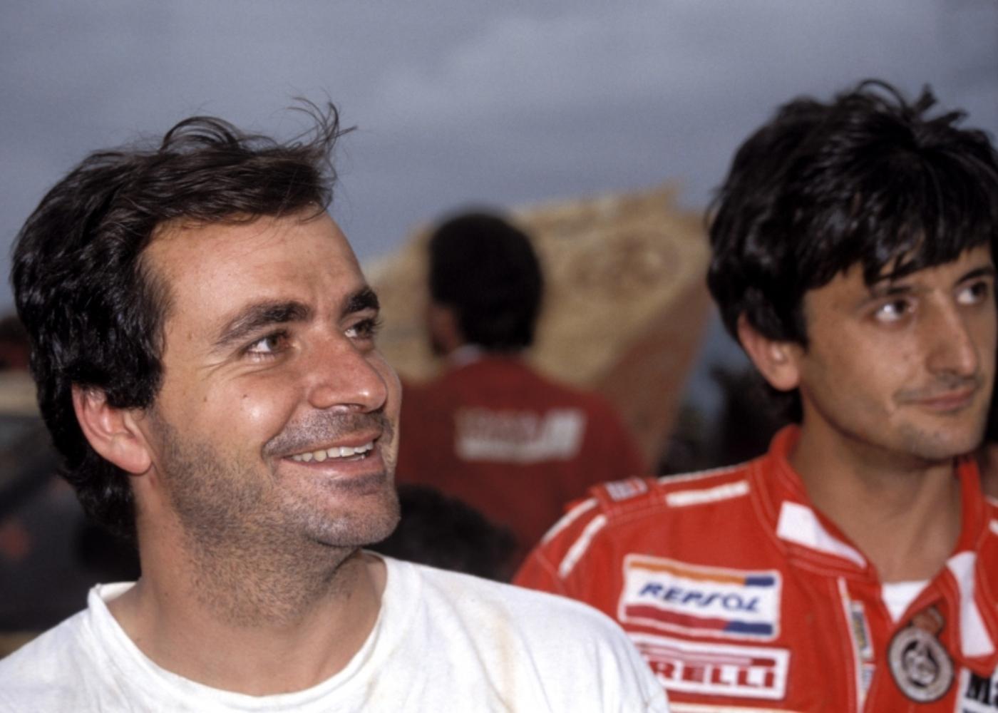 Carlos Sainz, um dos pilotos mais marcantes do rali de Portugal