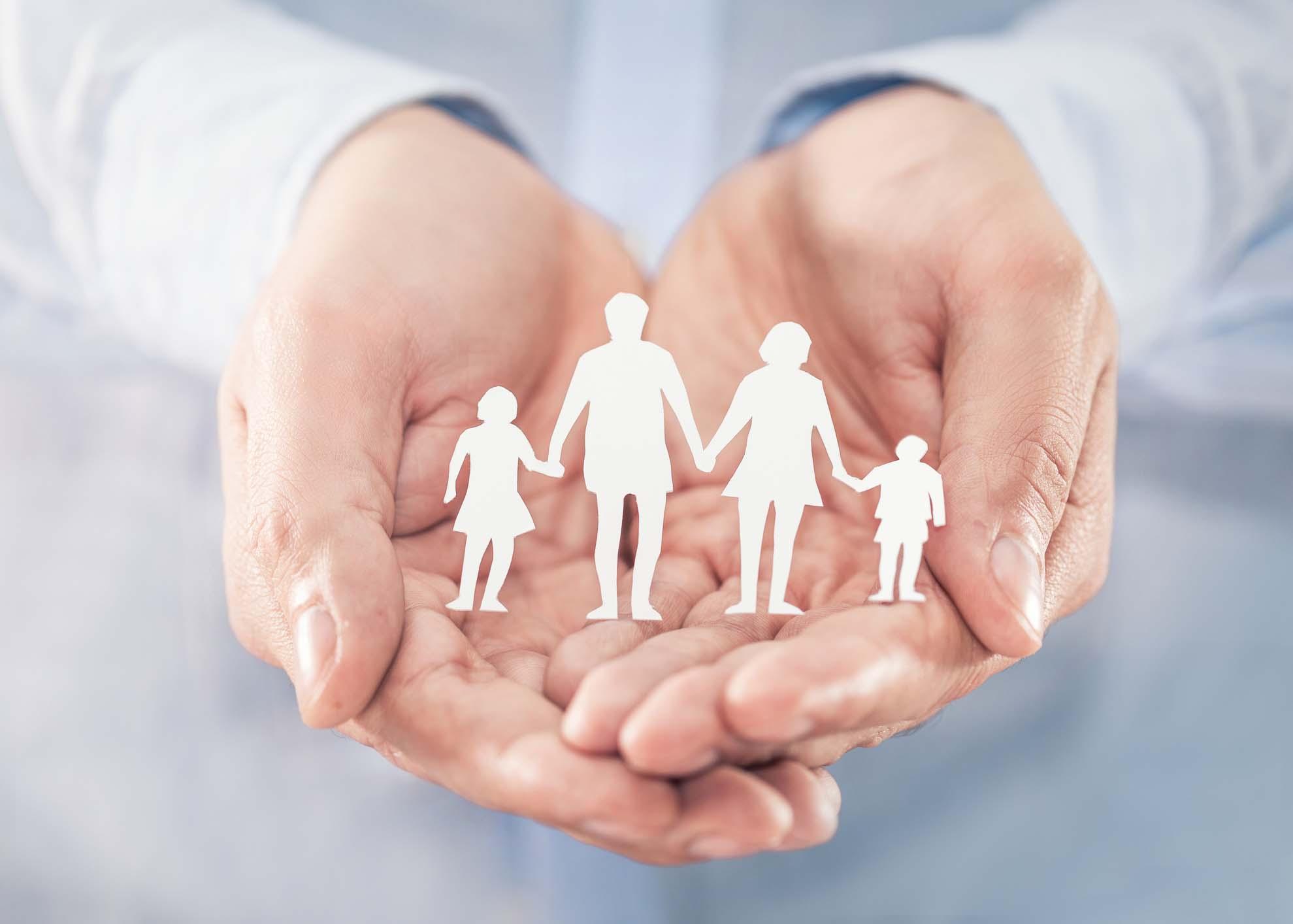 proteção da família