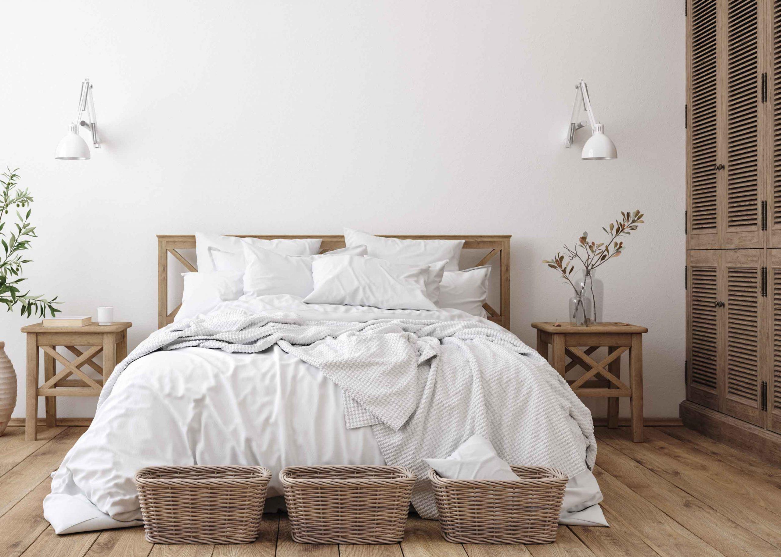 quarto confortável
