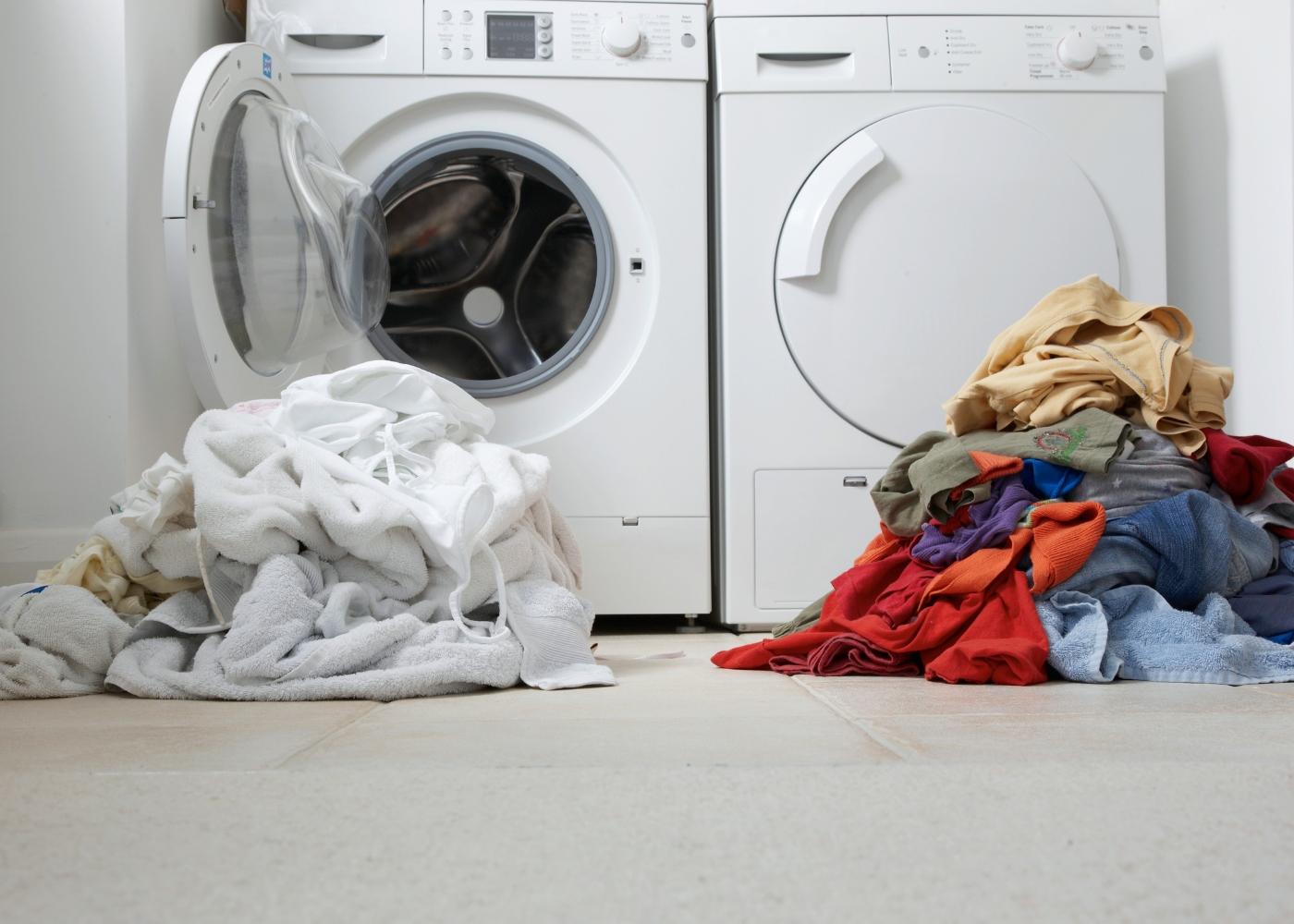 máquinas de lavar a roupa para cada tipo de cor