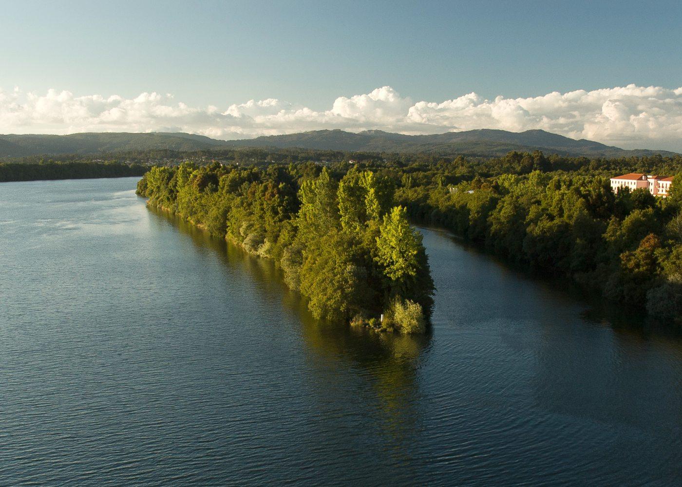 Rio Minho em Vila Nova de Cerveira