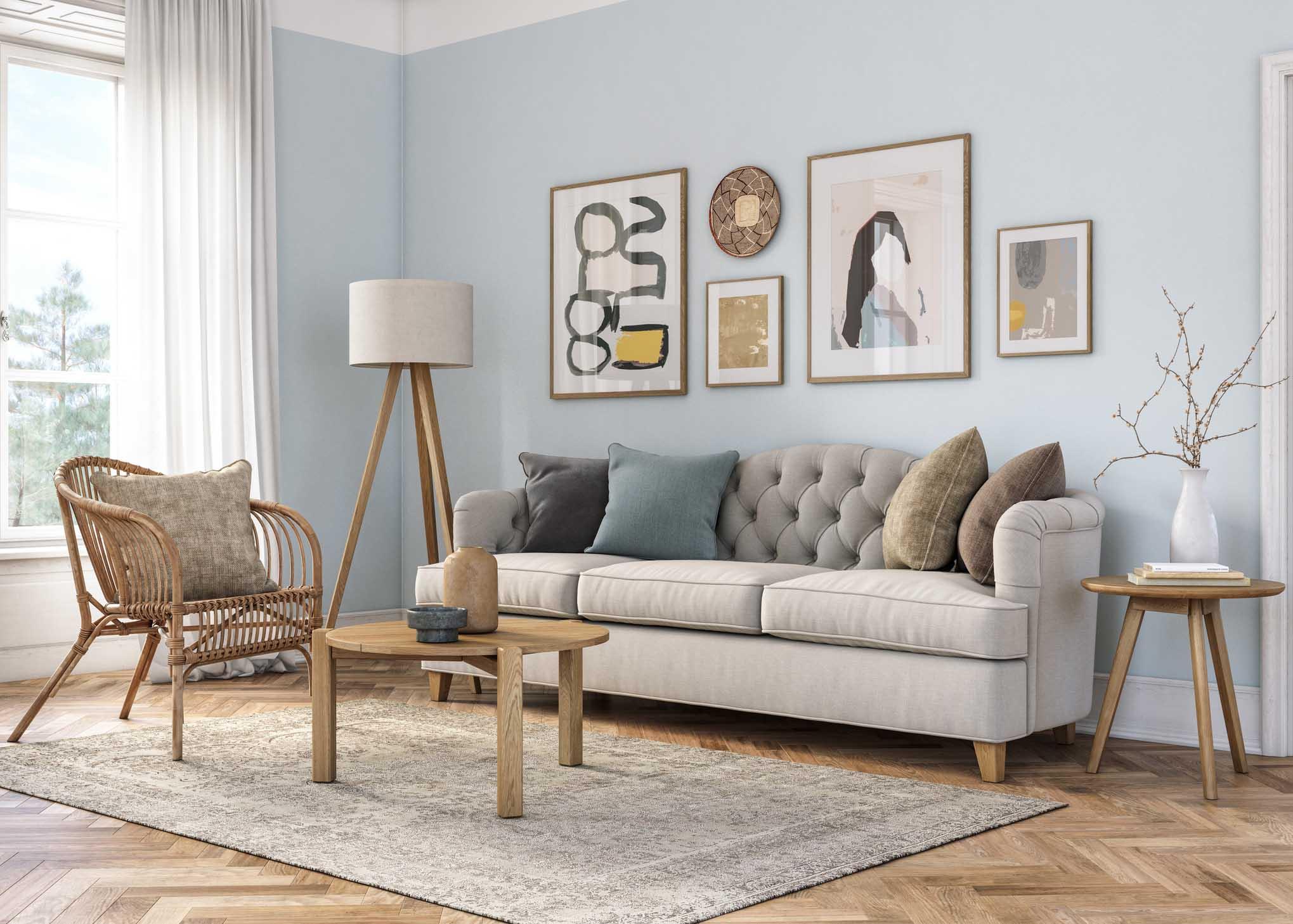 decorar sala sofá
