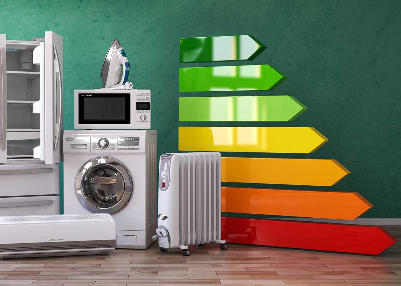 nova etiqueta de eficiência energética de eletrodomésticos