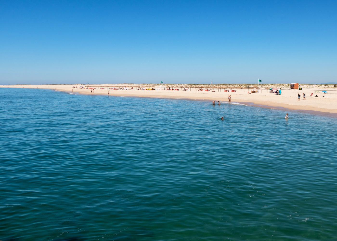 Barreta é uma das praias mais quentes do Algarve